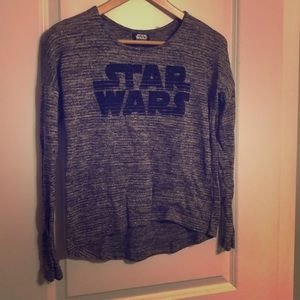 Sparkly Star Wars sweater